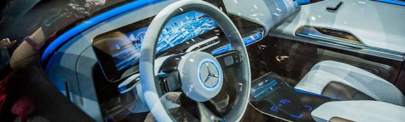 Generation EQ Concept- Mercedes Benz Electric Car
