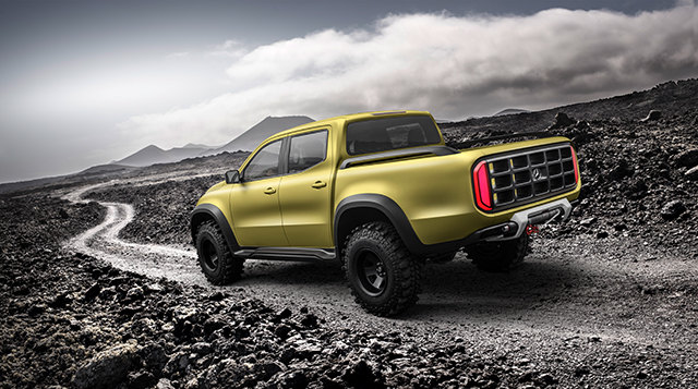 What the Truck? Mercedes Benz X Class Pickup Truck